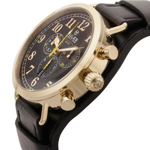 Jules Breting Chronograph Removable Cuff Watch